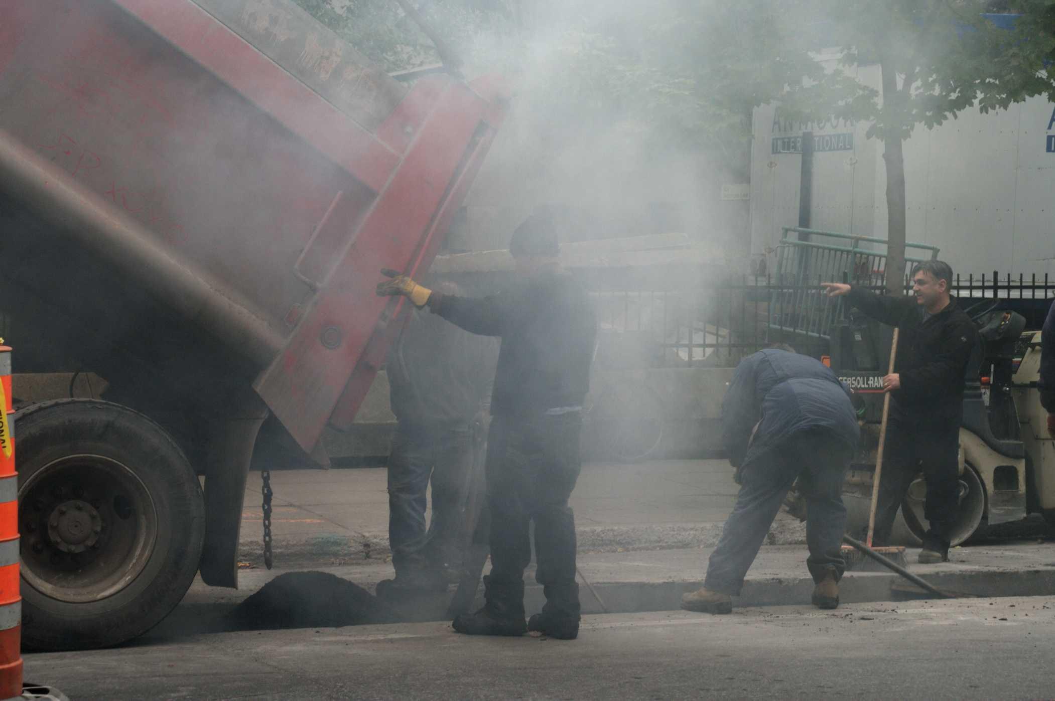 """Résultat de recherche d'images pour """"rechauffage du goudron"""""""