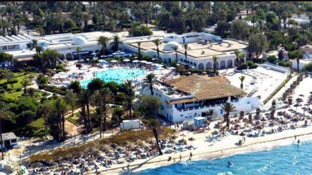 Le centre de vacances sociales d'El Shems.