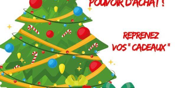 « Reprenez vos cadeaux ! » Rendez nous notre pouvoir d'achat !