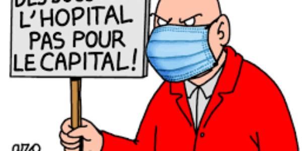 Des moyens pour la santé, pas pour les actionnaires !